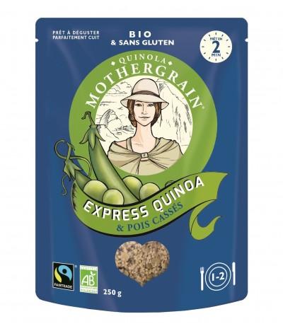 MotherGrain Express Quinoa & Ervilhas BIO 250gr