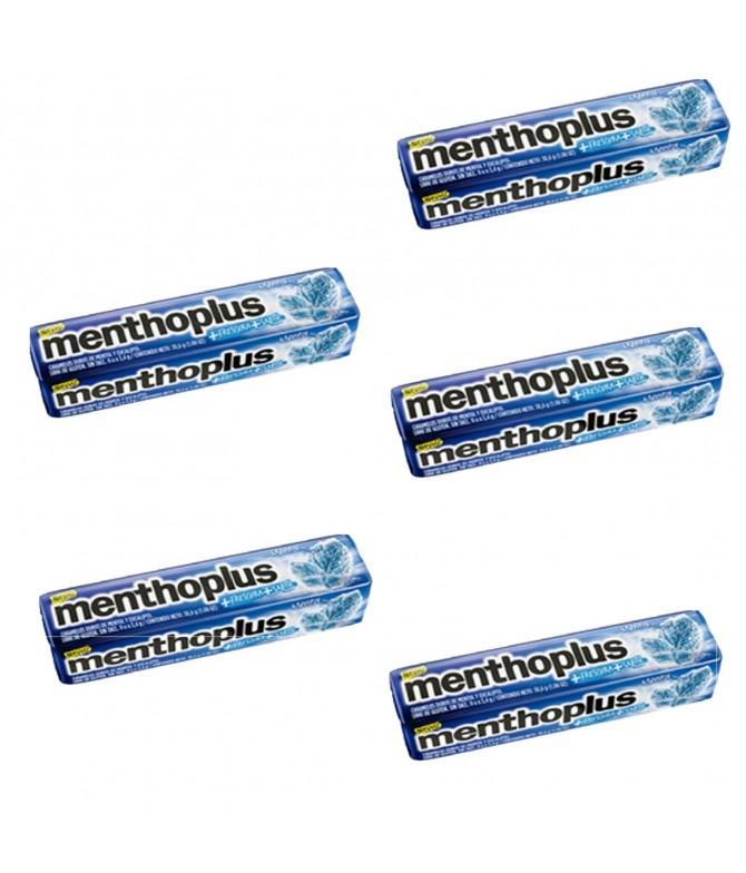 PACK FAMÍLIA 5 Menthoplus Mentol Rebuçados 31gr