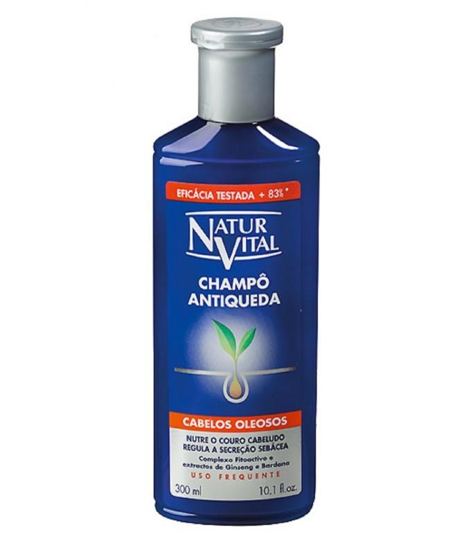 Natur Vital Champô Antiqueda Cabelos Oleosos 300ml
