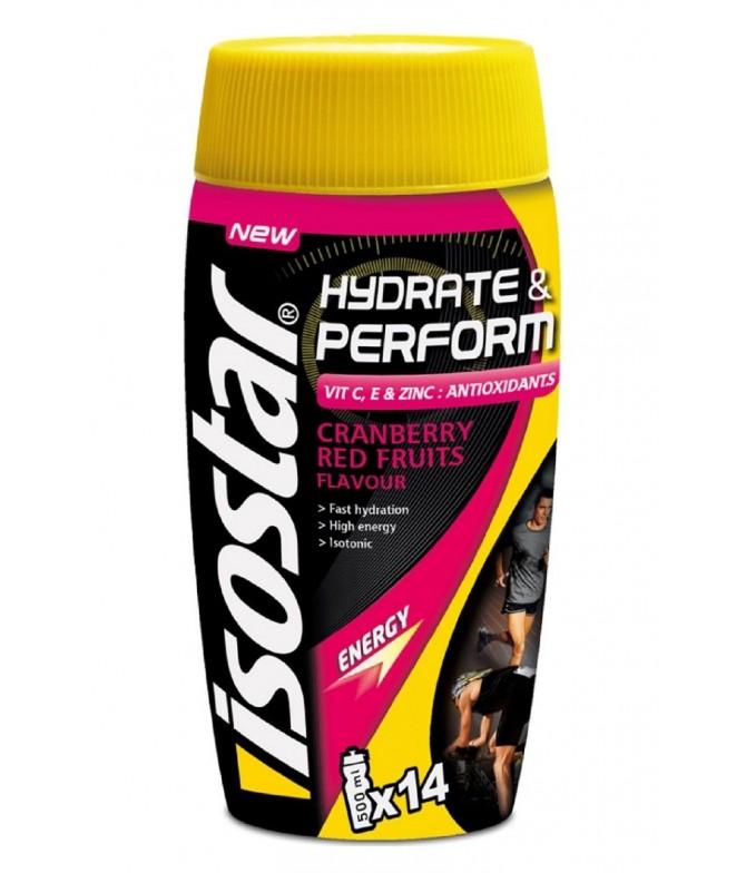 Isostar Hidrate & Perform Frutos Vermelhos 560gr