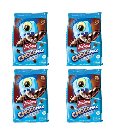 PACK FAMÍLIA 4 Nacional Cereais Chocomax 1Kg