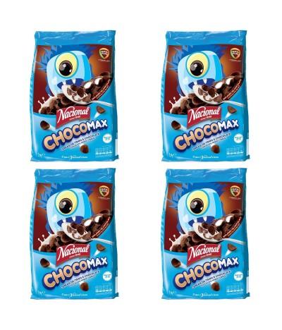 PACK FAMILIA 4 Nacional Cereales Chocomax 1Kg