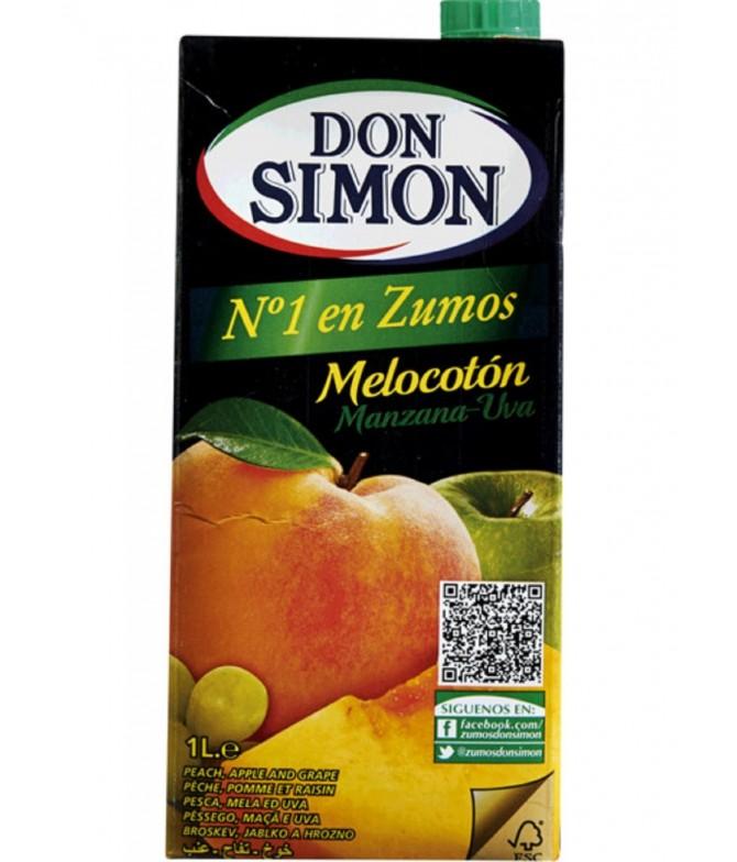 Don Simon Sumo 100% Pêssego & Uva 1L