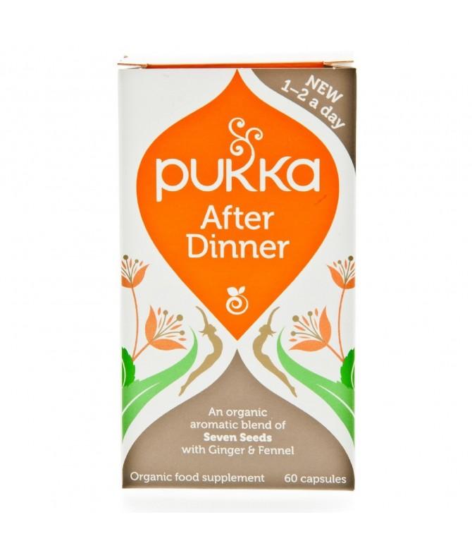 Pukka Suplemento After Dinner DIGESTÃO BIO 60un