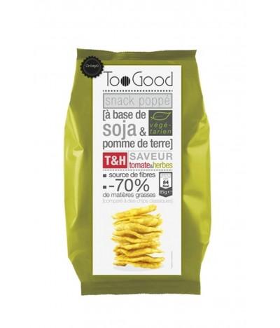 Too Good Snack Soja Tomate & Hierbas SIN GLUTEN 85gr