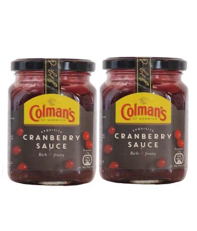 PACK 2 Molho Cranberry Colmans