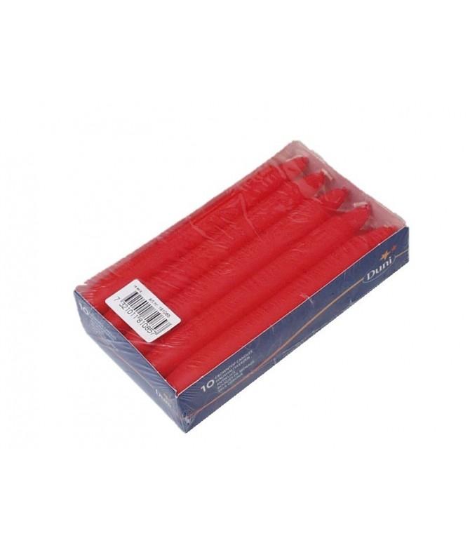 Vela Crowntop Vermelha 17,5 cm Duni