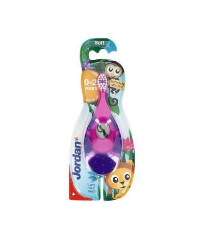 Jordan Escova de Dentes 0-2 Anos 1un