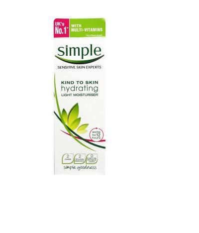 Simple Crema Facial Hidratante Suave 125ml