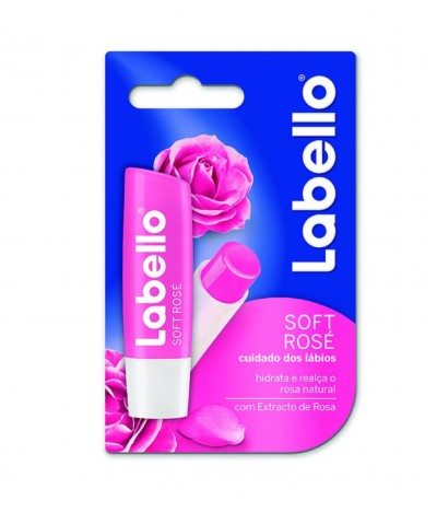 Labello Protetor Labial Soft Rose 1un