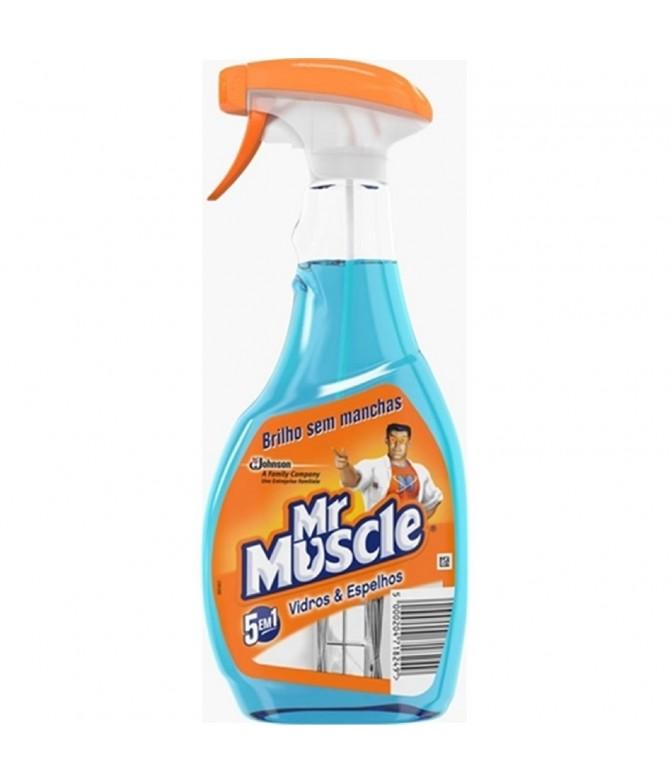 Mr Muscle Limpa Vidros & Espelhos 500ml