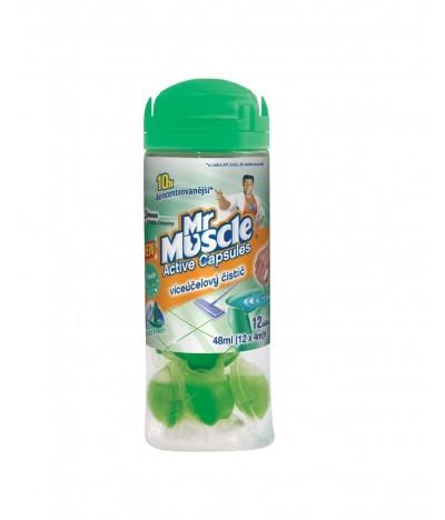 Mr Muscle Detergente Cápsulas Artic Fresh 12un