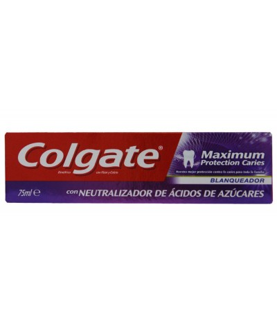Colgate Pasta Dentes Max Protection Caries White 75ml