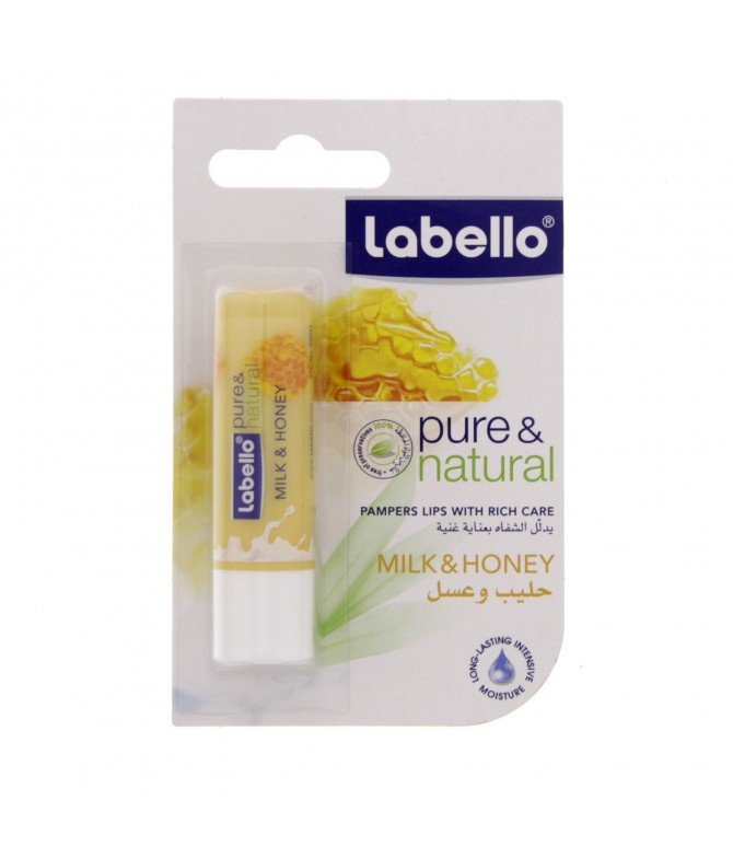 Labello Protetor Labial Pure & Natural 1un