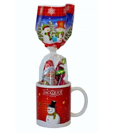 Jacquot Taza Navidad con Bombones 100gr
