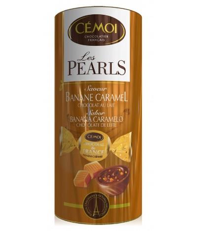 Cémoi Tubo Les Pearls Banana & Caramelo 195gr