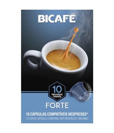 Bicafé Café Forte Compatível Nespresso 10 cáps