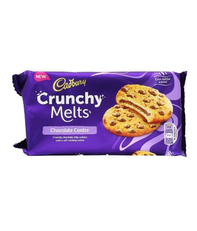 Cadbury Crunchy Melts Cookies & Pepitas 156gr