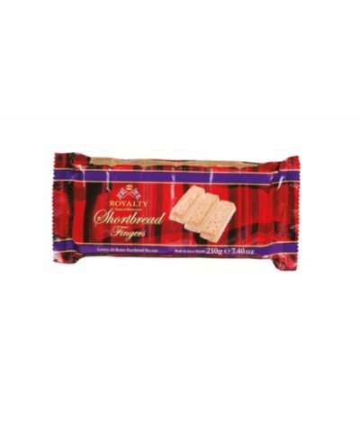 Royalty Galletas Mantequilla Shortbread Fingers 210gr