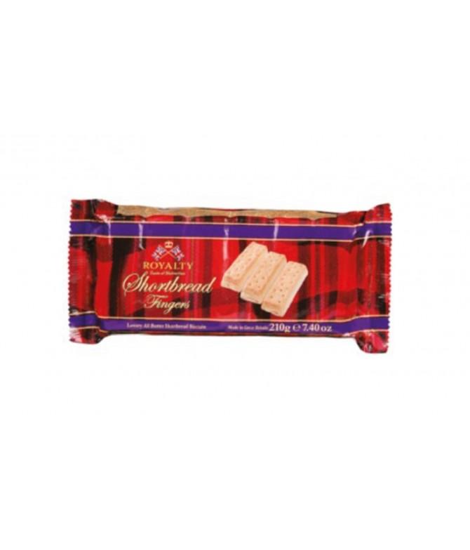 Royalty Bolachas Manteiga Shortbread Fingers 210gr