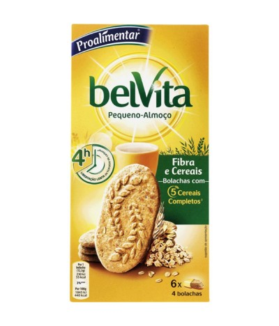 Belvita Bolachas Breakfast Fibra & Cereais 300gr