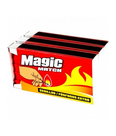 Magic Caja Cerillas Extra 3x100un