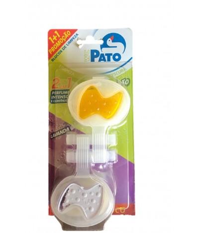 WC Pato Bloco Sanitário Limão Lavanda 1+1