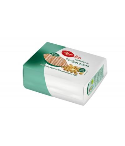 El Granero Tostas de Trigo de Sarraceno BIO 90gr