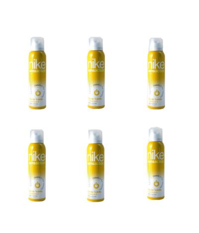 PACK FAMILIA 6 Desodorante Spray Nike Sensation Passion for Vanilla Woman 150ml