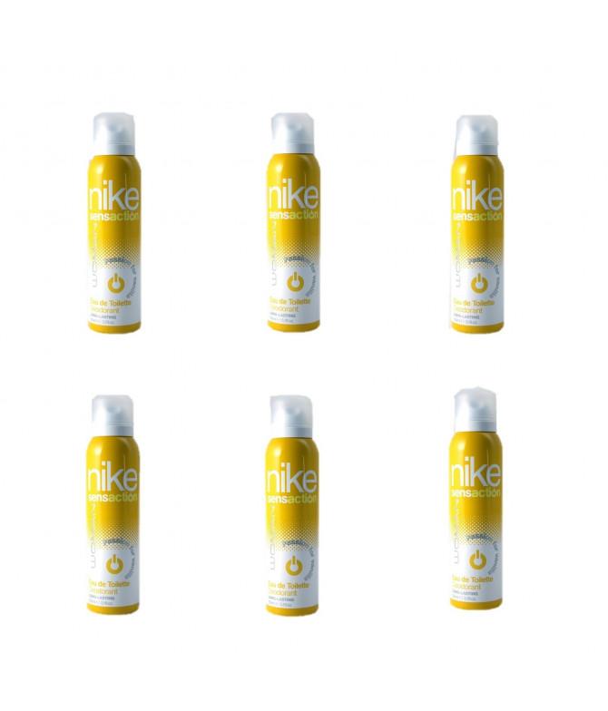 PACK FAMÍLIA 6 Desodorizante em Spray Sensation Passion for Vanilla Woman Nike 150 ml