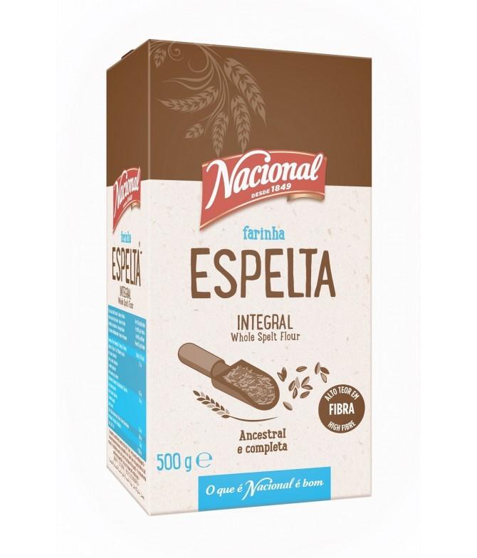 Nacional Farinha Espelta Integral 500gr