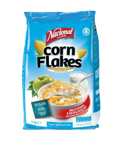 Nacional Cereais Corn Flakes 1kg