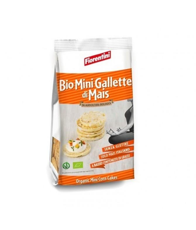 Fiorentini Tortitas Milho Corn Cakes BIO 100gr