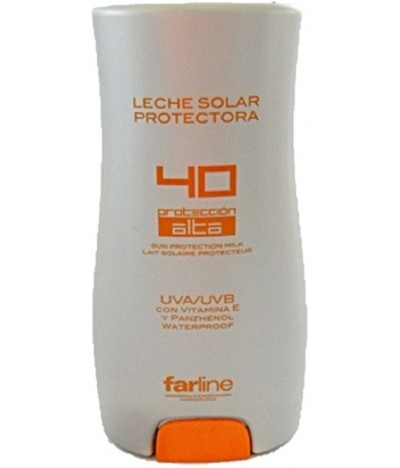 Leite Protetor Solar SPF 40 Farline