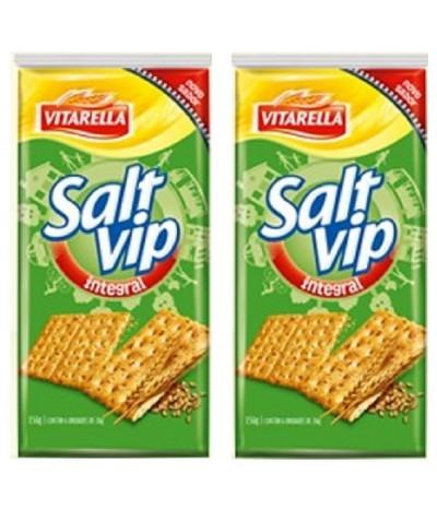 PACK 2 Vitarella Bolachas Salt Vip Integral 156gr