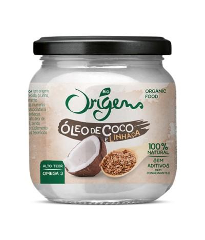 Origens Bio Óleo de Côco & Linhaça BIO 200ml