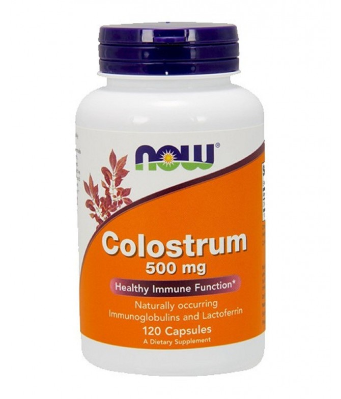 Now Suplemento Colostrum SIST.INMUNITARIO 120un