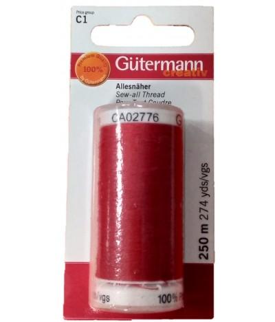 Gutermann Linha de Costura VERMELHA 640441 1un