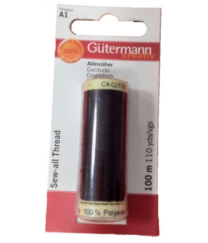 Gutermann Linha de Coser MARRÓN 640700 1un