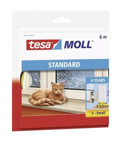 Tesa Moll Standard Fita Calafetagem Branco 6mx9mm