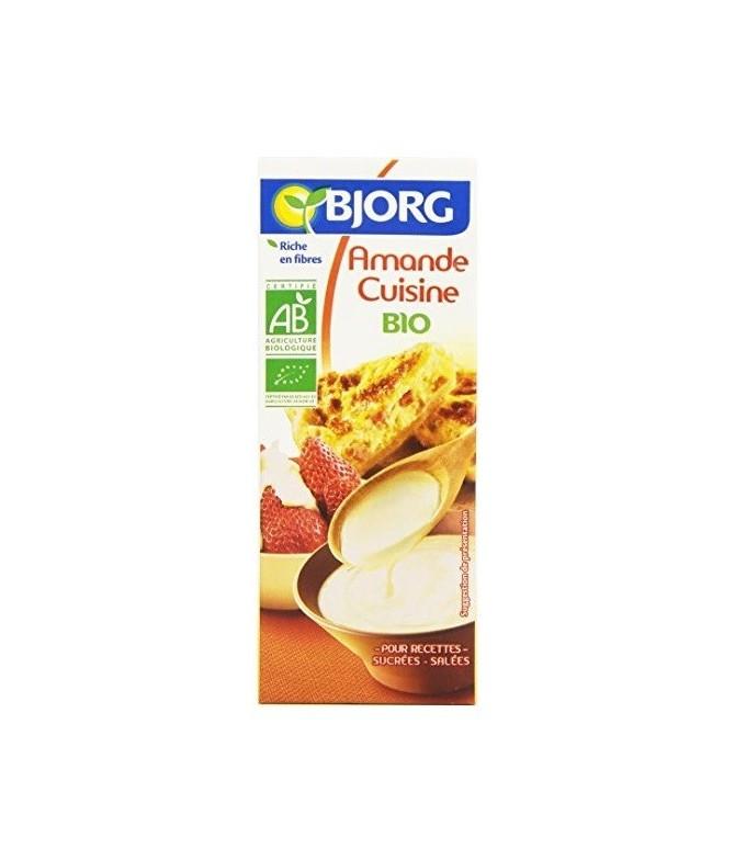 BJORG Crema de Almendras BIO 200ml