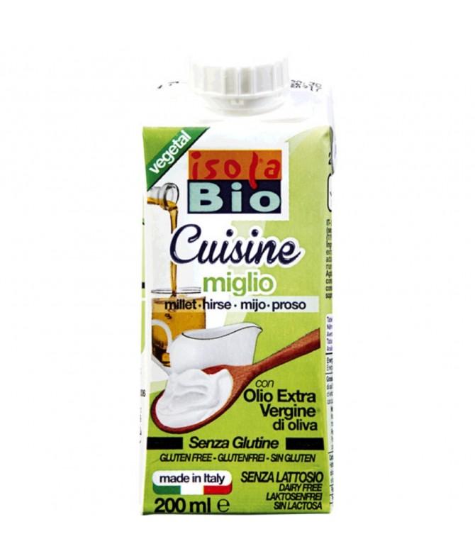 Isola Bio Creme Millet com Azeite BIO 200ml