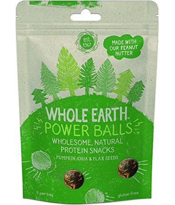 Whole Earth Powerballs Sementes Abóbora & Chia 50gr