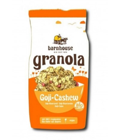 Barnhouse Granola & Goji Cajú BIO 375gr