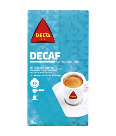 Delta Café Descafeinado Pastilhas 16un