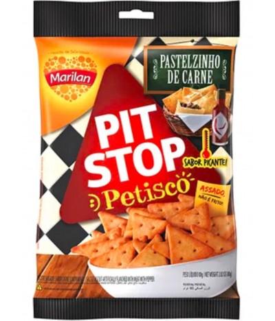 Pit Stop Petisco Pastelzinho de Carne Picante 80gr