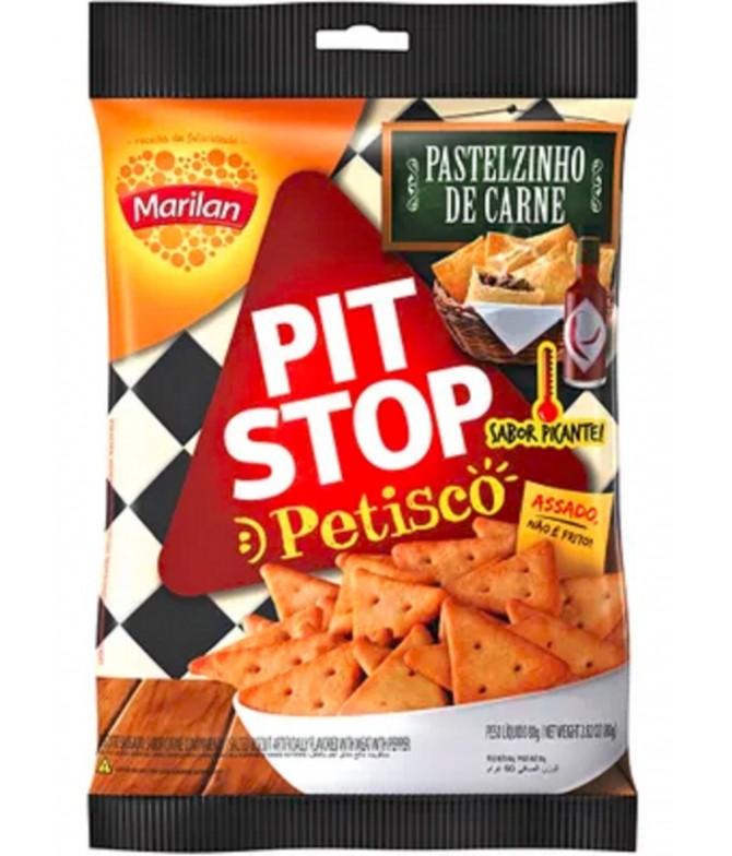 Marilan Pit Stop Petisco Pastelzinho de Carne Picante 80gr