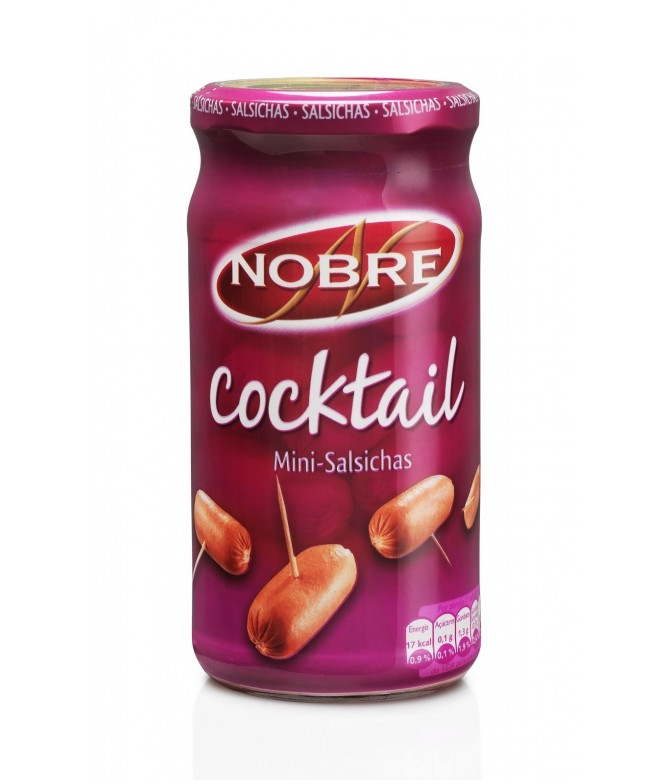 Nobre Salchichas Cocktail 360gr