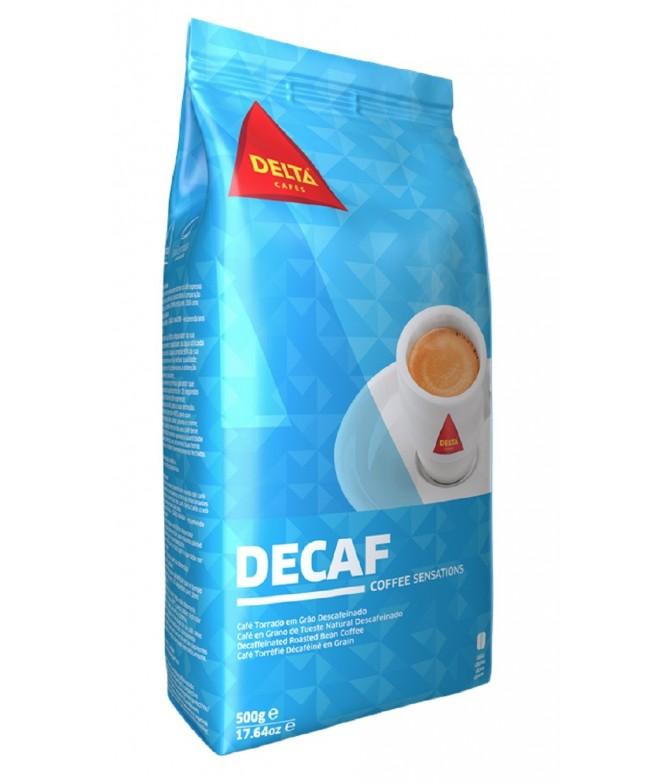 Delta Café Torrado Descafeinado em Grão 1kg