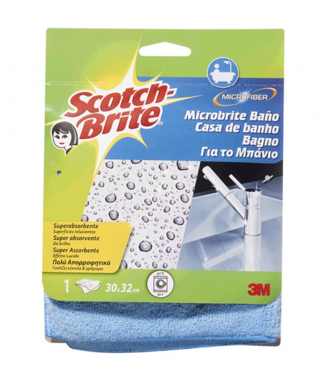 Scotch-Brite Pano Absorvente WC 1un